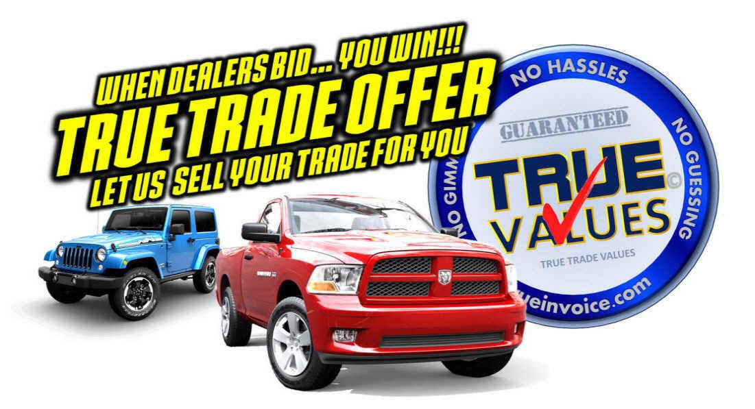 Truck Trade In Value >> True Invoice True Trade Values